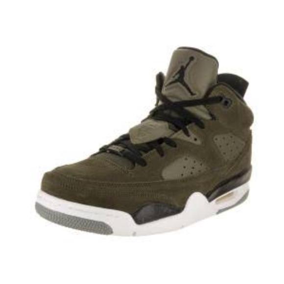 6a9ffb2afab Jordan Son of Mars Low Olive Mens Shoes 580603-300